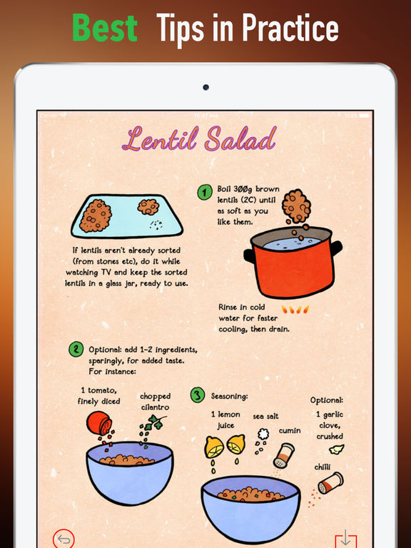 Salad Cooking Guide-Weight Loss,Ketogenic Die screenshot 9