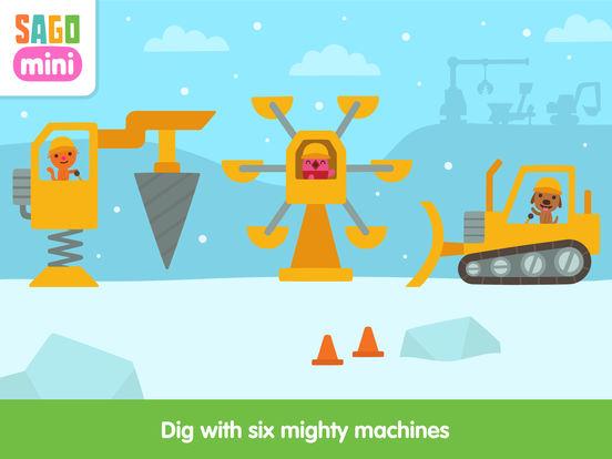 Sago Mini Holiday Trucks and Diggers screenshot 8