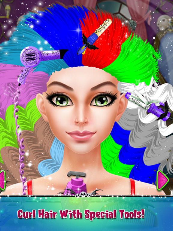 Halloween Scary Girl Makeover screenshot 9