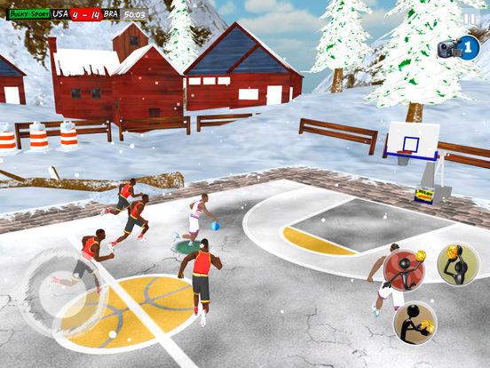 Play Basketball JAM 2017 Christmas Holidays Ed. 3D screenshot 9