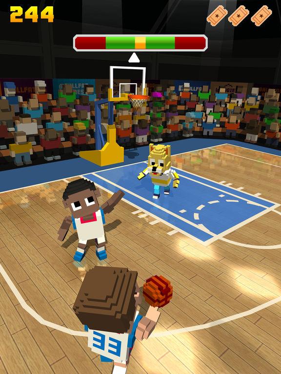 Blocky Basketball FreeStyle screenshot 7