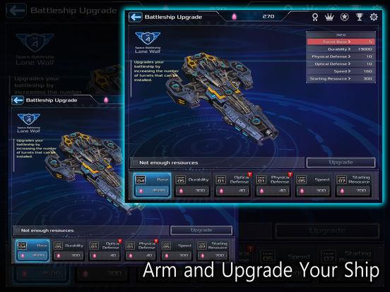 Battleship Lonewolf: Space Shooter screenshot 7
