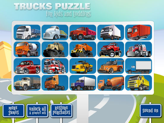 Trucks Puzzle (Premium) screenshot 5