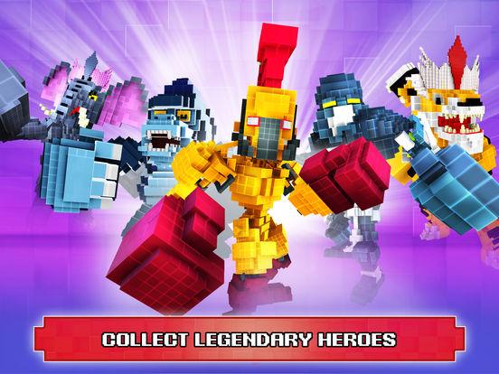 Super Pixel Heroes 2019 screenshot 8