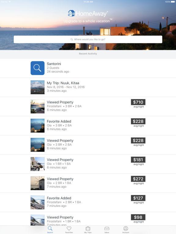 HomeAway Vacation Rentals screenshot 7