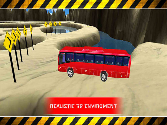 Snow Bus Parking : Free Par-King Sim-ulator Game-s screenshot 8