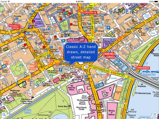 Az Street Map Of London.London Super Scale A Z Street Map Apps 148apps