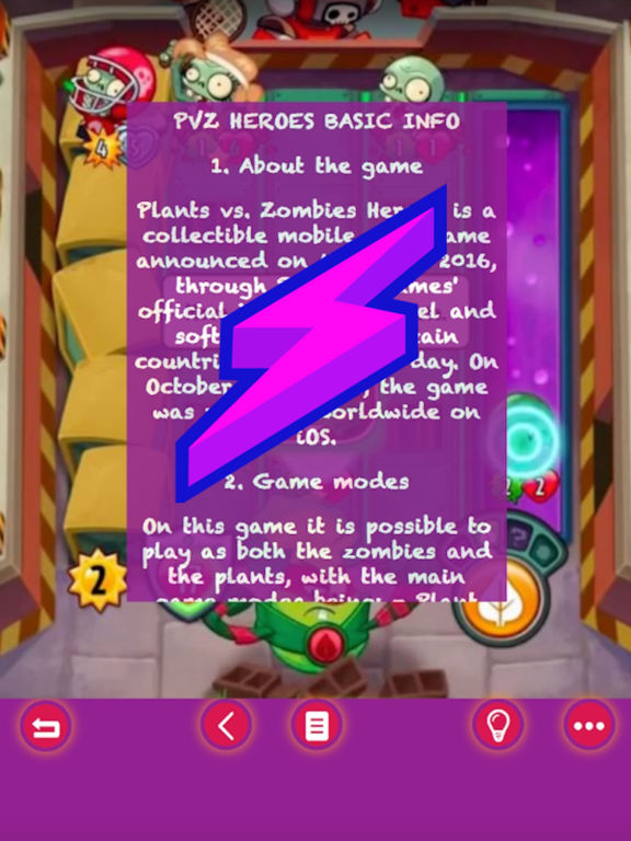 Fast Play Guide For Plants vs. Zombies Heroes Pro screenshot 4
