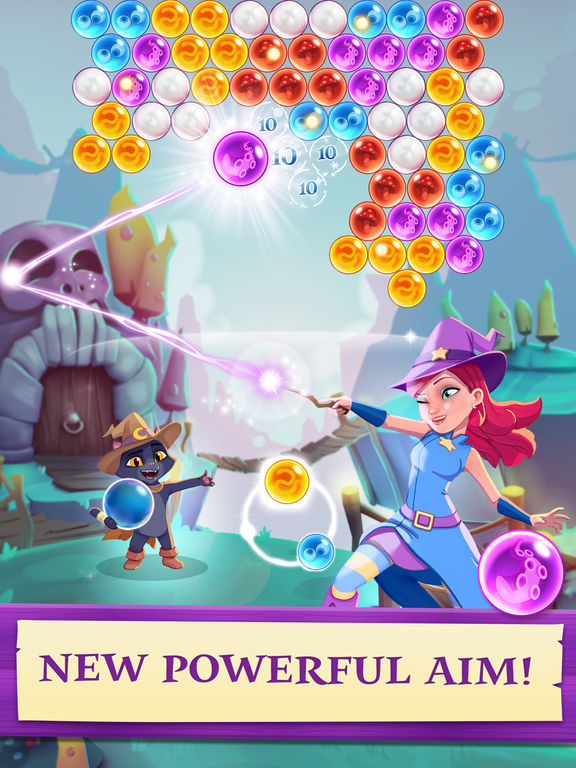 Bubble Witch 3 Saga screenshot #1