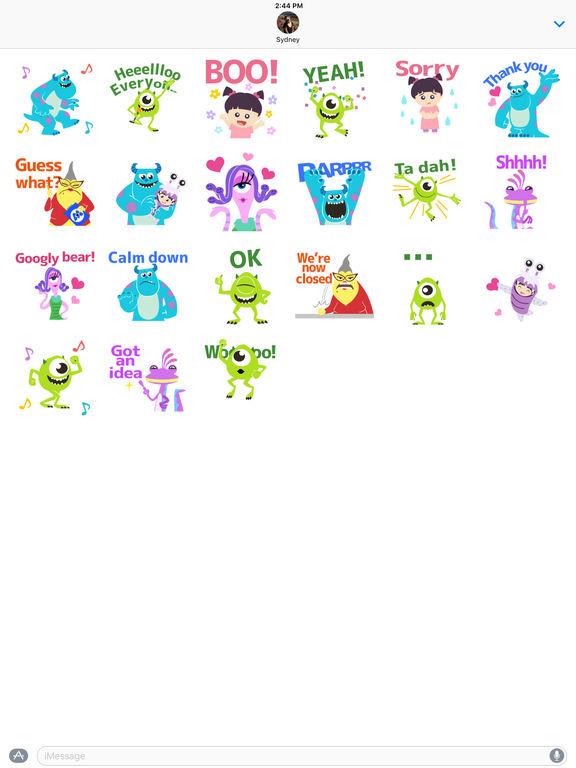 Disney Stickers: Monsters Inc. screenshot 10