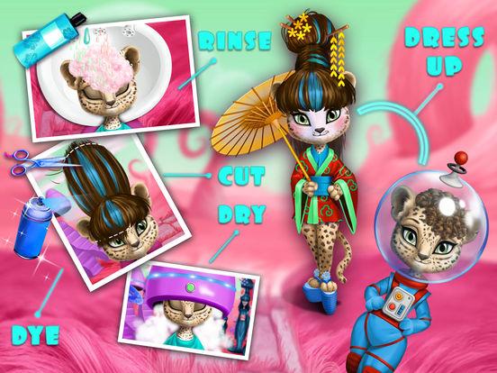 Space Animal Hair Salon – Cosmic Pets Makeover screenshot 9
