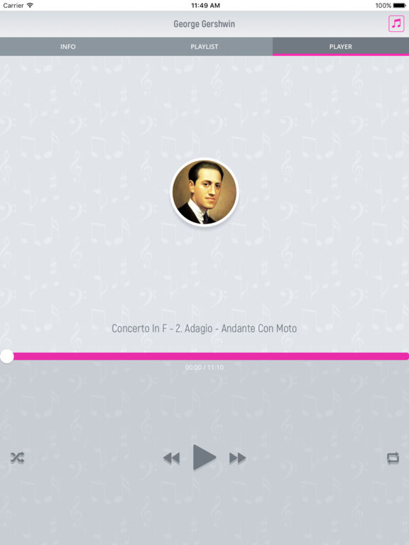 George Gershwin - Classical Music screenshot 8