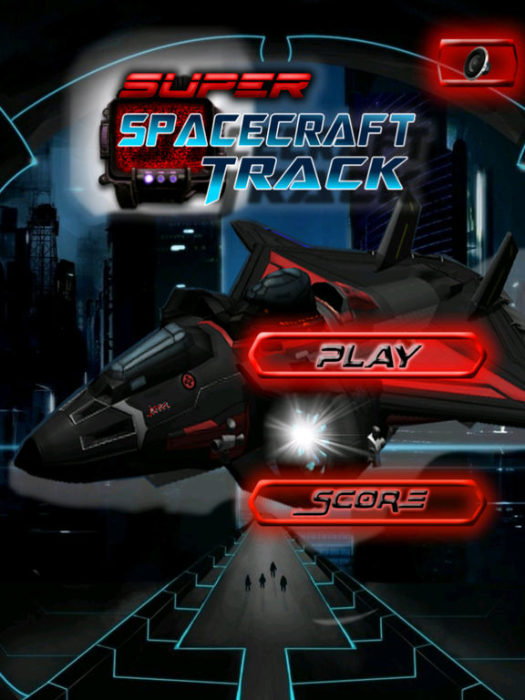Super Spacecraft Track Pro - Game Ship Fighter Lightning screenshot 6