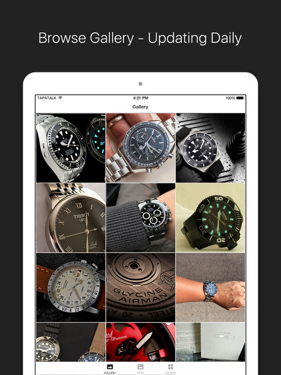 Watch News & Photo App- for Rolex, IWC, TAG & more screenshot 5