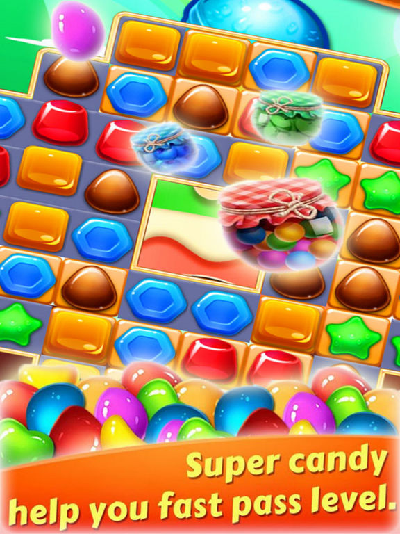 Magic Jelly Clast - Candy Link screenshot 5