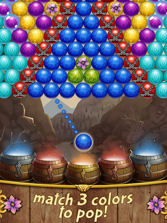 Bubble Shooter Blossom screenshot 9