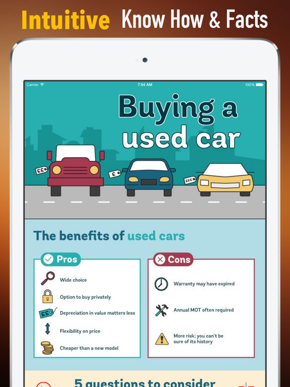 Used Cars:Traffic and Buying Guide screenshot 6