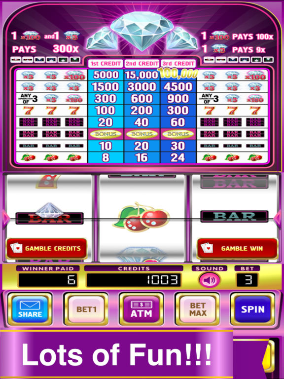 Double Deluxe Diamond Slots Pro Edition screenshot 5