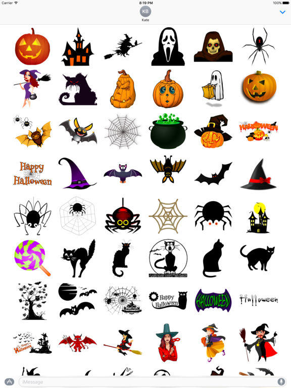 Happy Halloween • Stickers screenshot 6