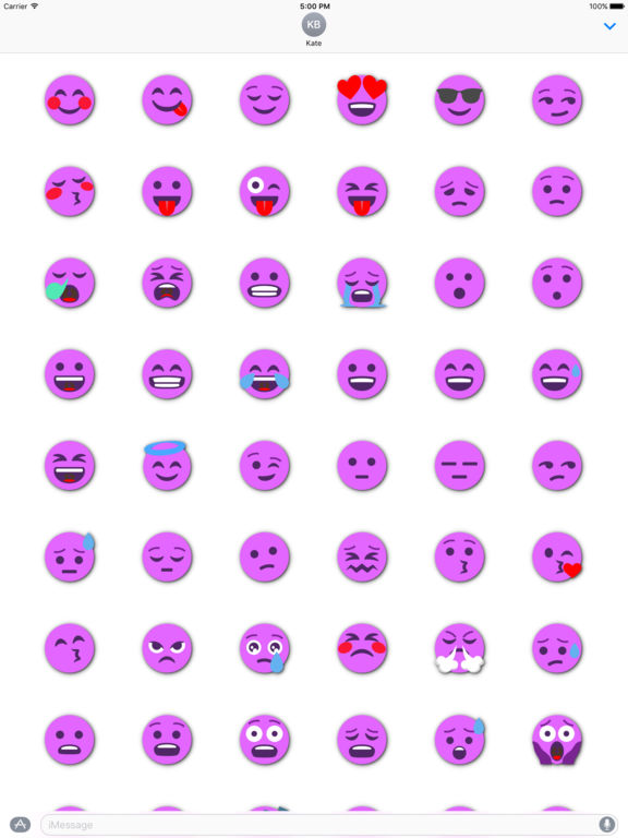 FUCHSIA Emoji • Stickers screenshot 6