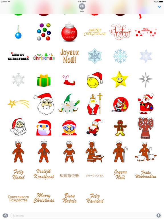 Merry Christmas • Stickers screenshot 8