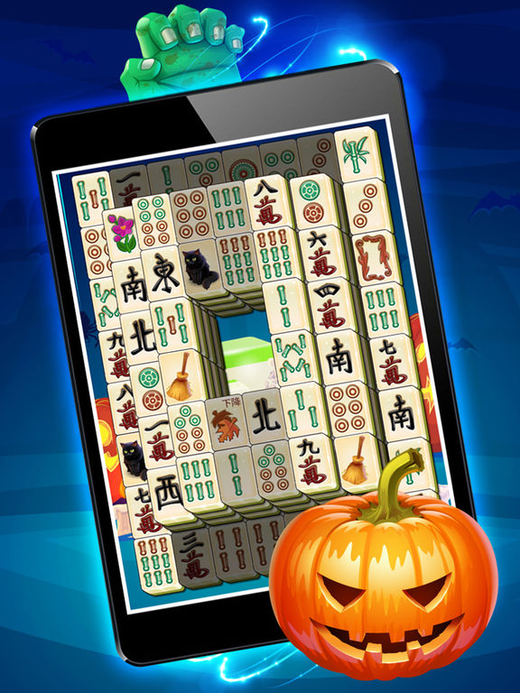 Magic Halloween Mahjong - Haunting Majong Game Pro screenshot 9