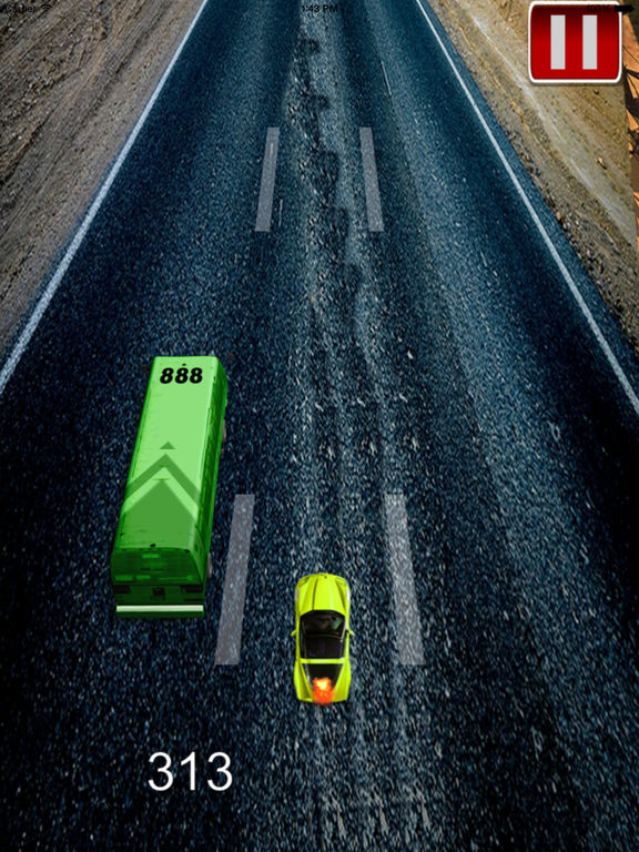 A Speed Endless To White Car Pro - A Hypnotic Game Of Driving screenshot 10