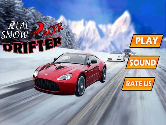 Real Snow Drifting Racer : 3D Hill Fast Drive screenshot 5