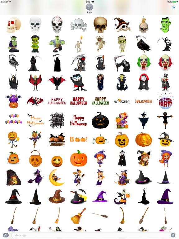 Halloween Sticker Pack - 200+ Stickers screenshot 6