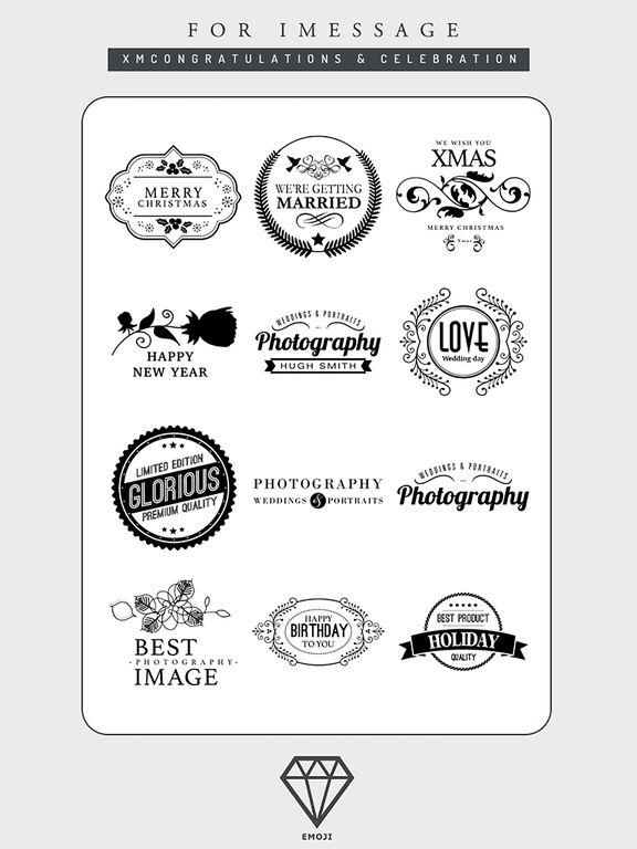 B&W Emoji Keyboard - Gift Sticker for Messenger screenshot 7