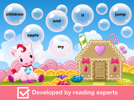 Sight Words Games in Candy Land - Reading for kids screenshot 9