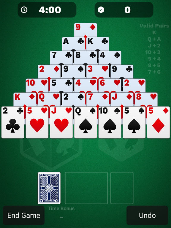 Pyramid Solitaire Cube screenshot 7