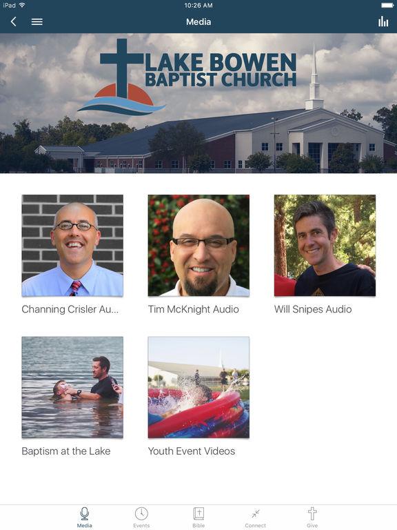 Lake Bowen Church App screenshot 4