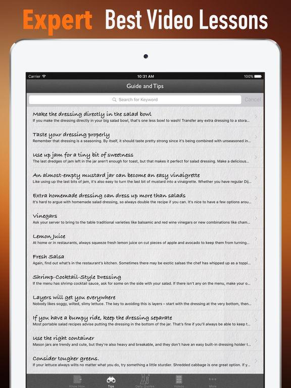 Salad Dressing 101-Recipes Tips and Tutorial screenshot 8