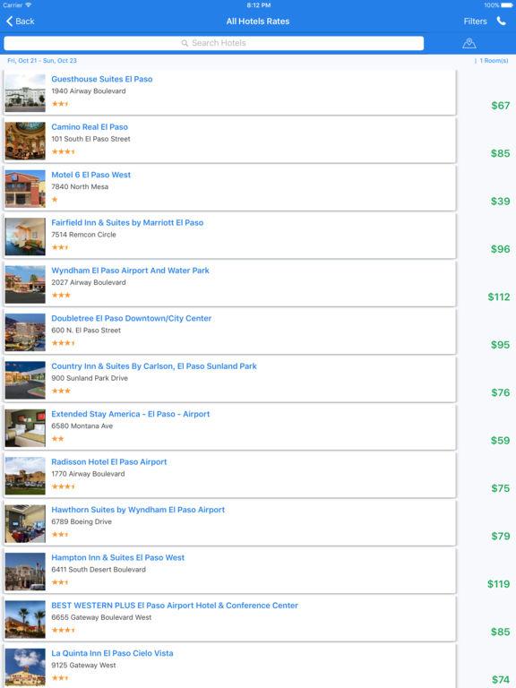 i4elpaso - El Paso Hotels & Yellow Pages Directory screenshot 8