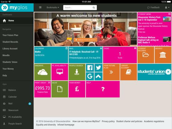 MyGlos screenshot 5