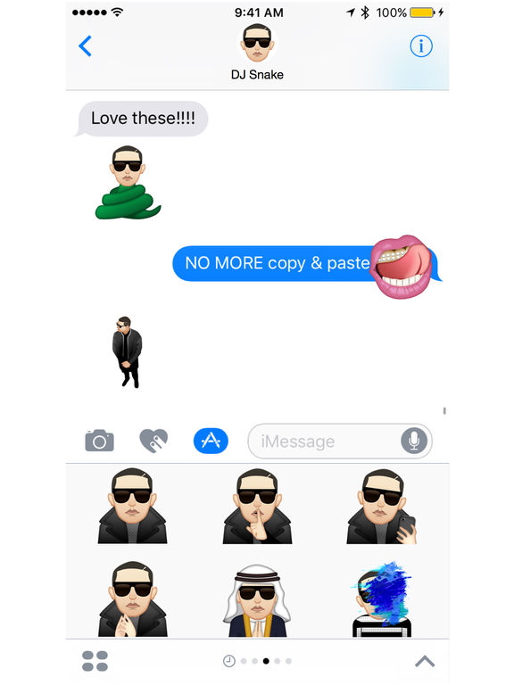 DJ Snake ™ by Moji Stickers screenshot 4