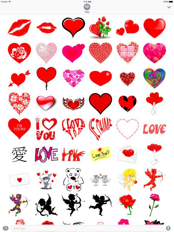 I Love You • Stickers & Emoji screenshot 6