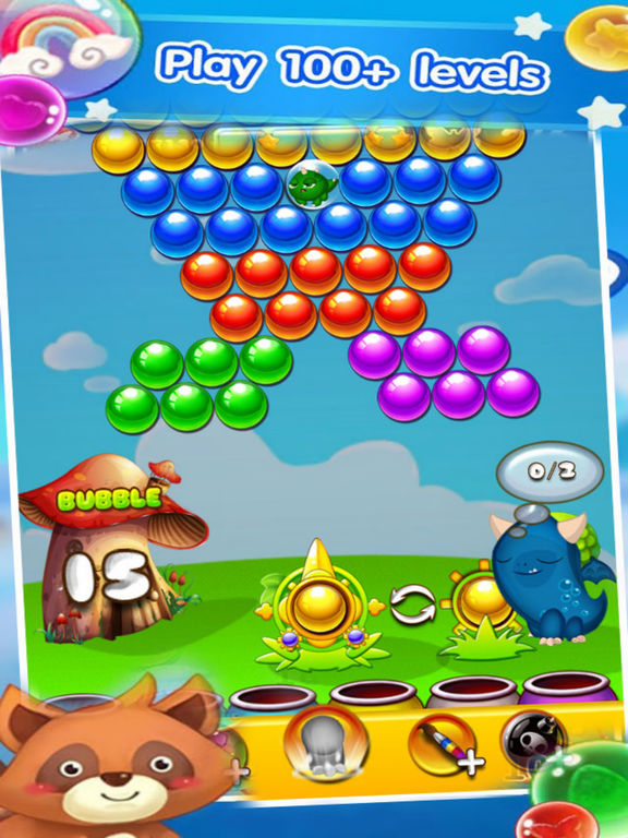 Excite Bubble - Rescue Pet Kute screenshot 6