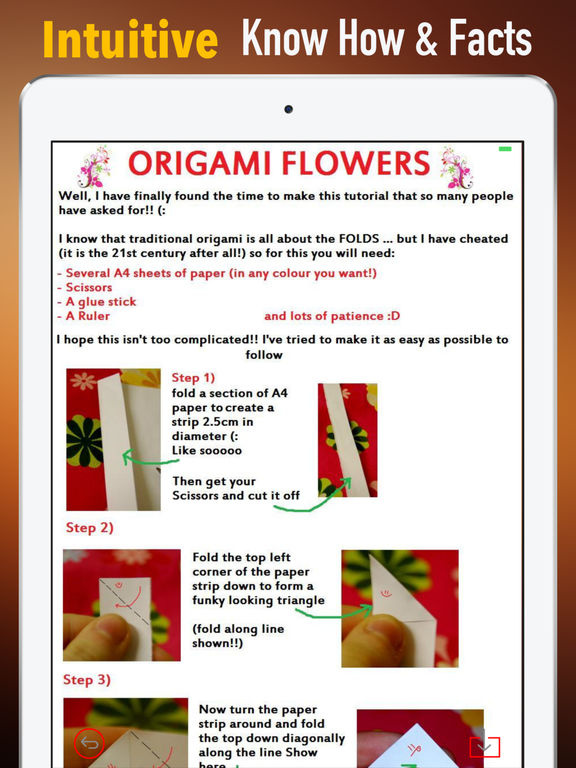 How to DIY Make Paper Flower-Learn Guide and Tips screenshot 5