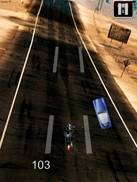 A Nitro Biker Race Ultra - Motorcycle Driving 3D Game screenshot 10