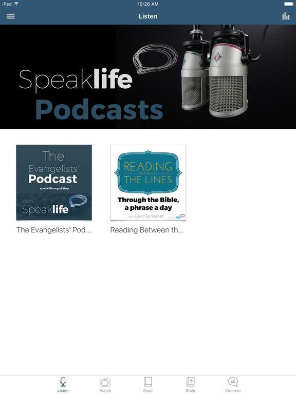 Speak Life App screenshot 4