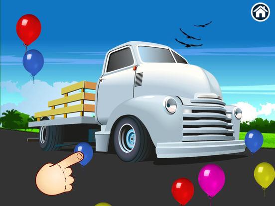 Trucks - Connect Dots for preschoolers screenshot 10