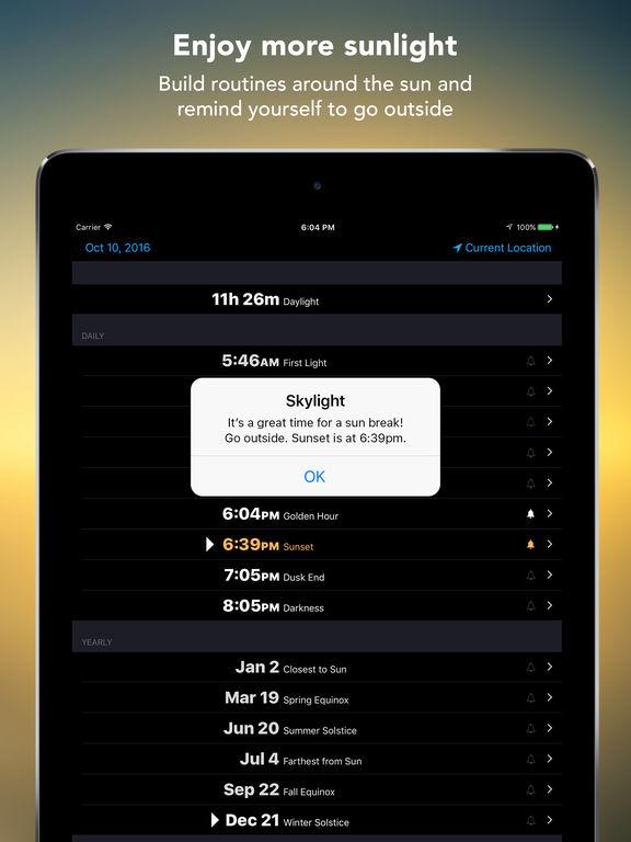 Skylight - Sun Clock screenshot 7