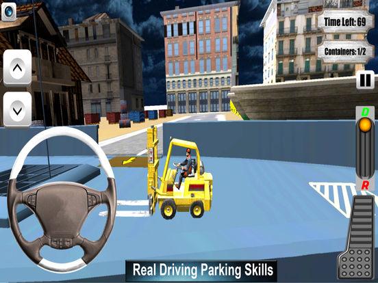 Forklifter Simulator 2016 : Container Cargo Lifter screenshot 5