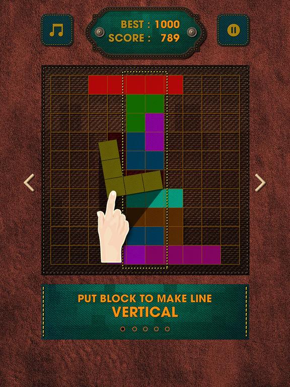 Vintage Block Puzzle Game screenshot 7