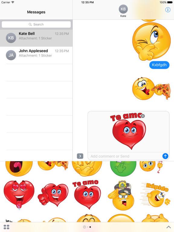 Best Stickers iMessage Edition screenshot 9
