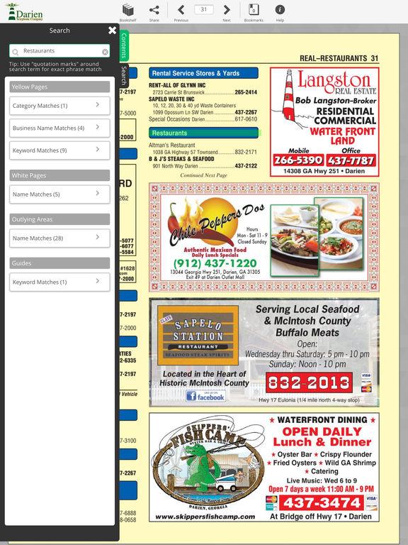 Darien Directory screenshot 8