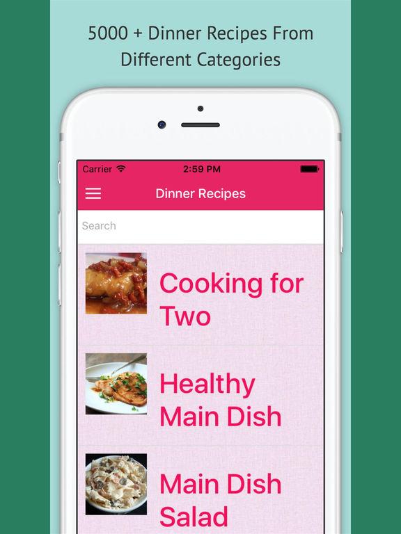 Dinner Recipes Pro screenshot 4