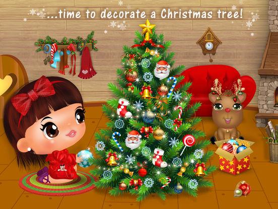 Sweet Little Emma Winterland 2 Cute Reindeer Care screenshot 10